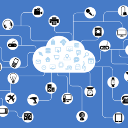 IoT graphic with different devices