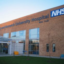 NHS norfolk and norwich university hospital
